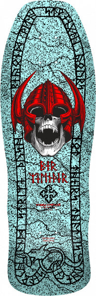 Powell Peralta Per Welinder Nordic Skull Light Blue Skateboard Deck