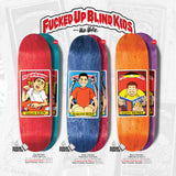 Blind Guy Mariano Fucked Up Blind Kids Skateboard Deck
