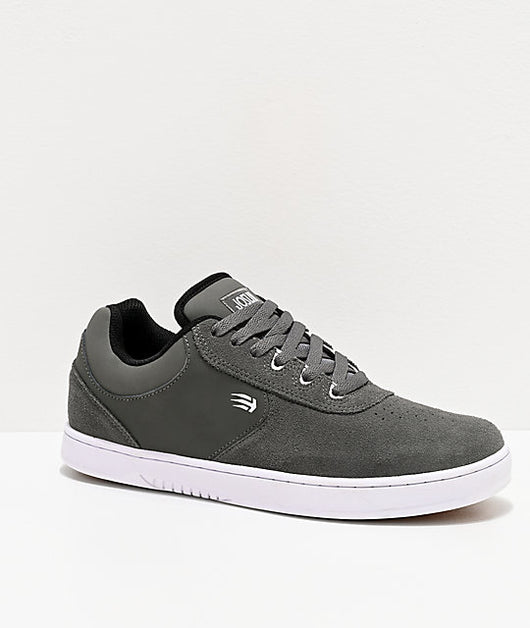 Etnies Joslin Grey & White Skate Shoes