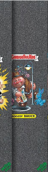 "Mob / Garbage Pail Kids 9"" x 33"" Black Skateboard Graphic Grip Tape Lot includes all 5!"