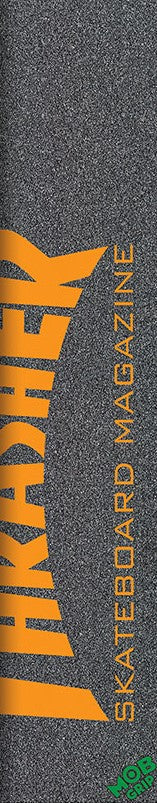 Mob x Thrasher Magazine Yellow or Orange Skateboard Grip Tape
