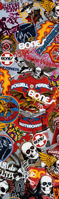 Powell Peralta Stickers Graphic Skateboard Grip Tape
