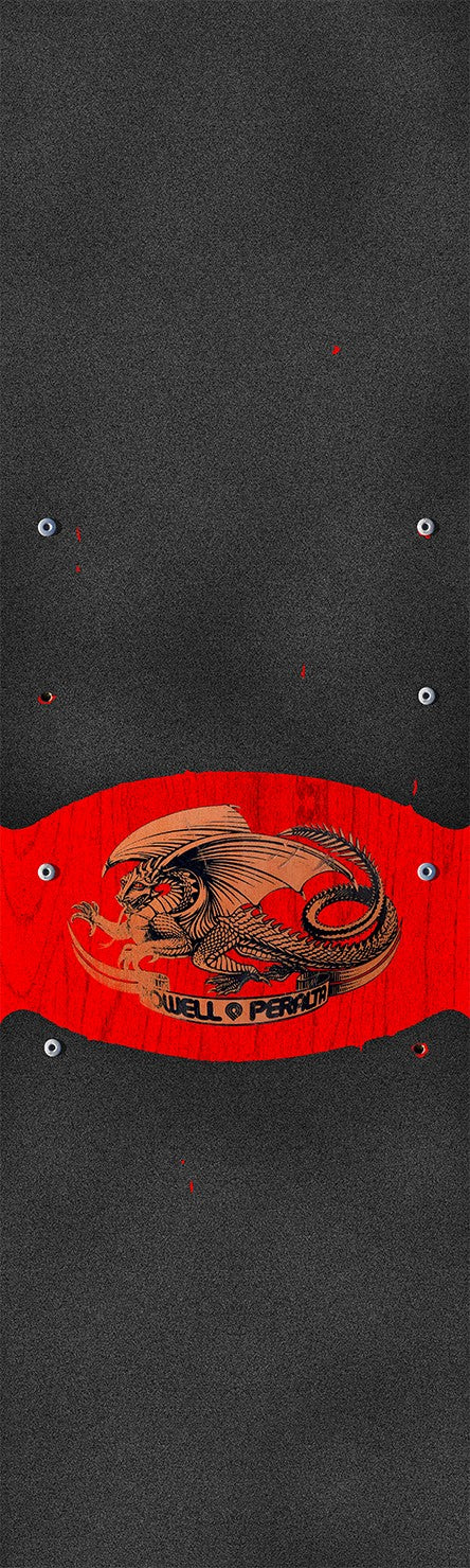 Powell Peralta Oval Dragon Graphic Premium Skateboard Grip Tape