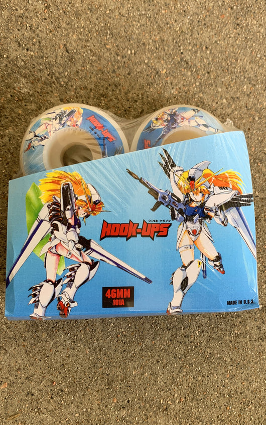Hook Ups Battle Mobile Suits Duo 46mm Skateboard Wheels
