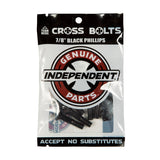 Independent Truck Co. Genuine Parts 7/8 Black Skateboard Mounting Hardware