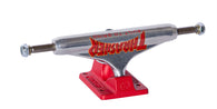Independent Thrasher TTG Stage XI Silver/Red Skateboard Trucks
