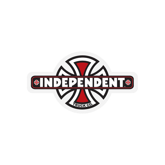 Independent Vintage Cross Sticker