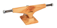 Krux Hollow Raw Wood Standard Skateboard Trucks