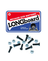 "Shorty's 2"" Phillips Longboard Skateboard Hardware"