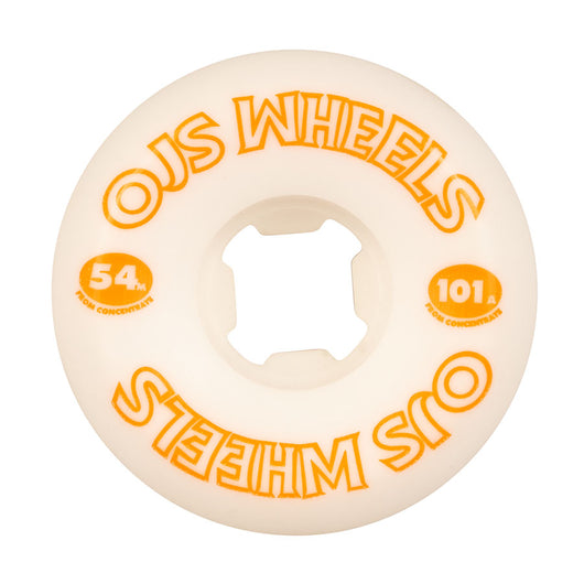 OJ From Concentrate Hardline 54mm 101a Skateboard Wheels