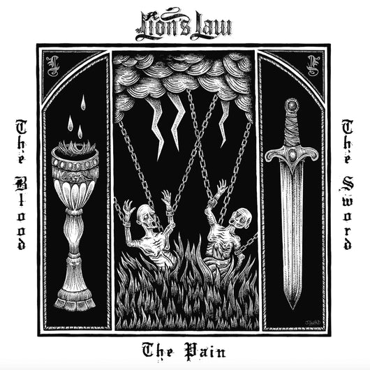 Lion's Law - The Pain, The Blood, And The Sword LP