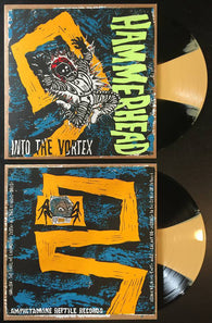 Hammerhead - Into the Vortex - Yellow Black Vinyl LTD LP AmREP art by HAZE XXL
