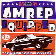Amphetamine Reptile Records - Amrep Equipped '96-'97 CD sampler Cows - Unsane - Chokebore