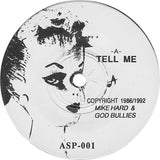 "Music God Bullies - Tell Me / Creepy People 7"" Test Pressing - TheDarkSlide"