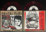 "Crystal Fairy - Necklace of Divorce 7"" LTD Red w/ Black Splatter vinyl"