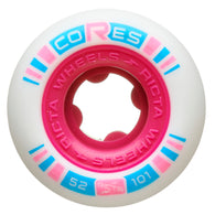 Ricta Cores Neon Pink 52mm 101a Skateboard Wheels