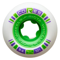 Ricta Cores Neon Green 54mm 101a Skateboard Wheels