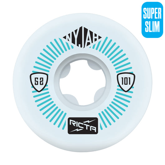 Ricta Nyjah Huston Pro Super Slim 52mm 101a Skateboard Wheels