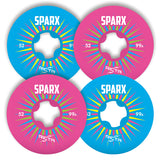 Ricta Sparx Mix Up 52mm 99a Skateboard Wheels