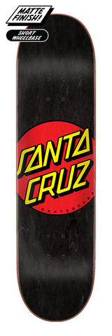 "Santa Cruz Classic Dot 8.25"" Skateboard Deck"