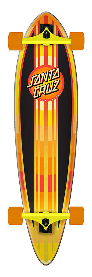 Santa Cruz Gleam Dot Cruzer Pintail Complete Skateboard 9.58 x 39