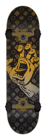 Santa Cruz Screaming Hand Jackpot Large Sk8 Complete Skateboard 8.25 x 31.5