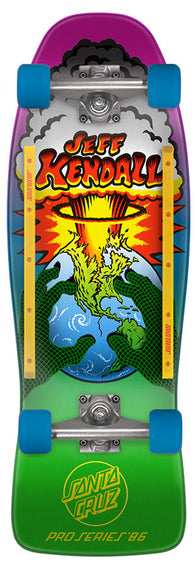 Santa Cruz Jeff Kendall End of The World Complete Skateboard