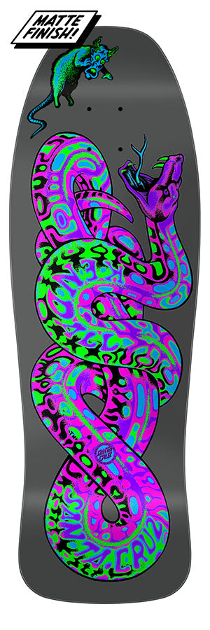 Santa Cruz Jeff Kendall Snake Blacklight skateboard deck