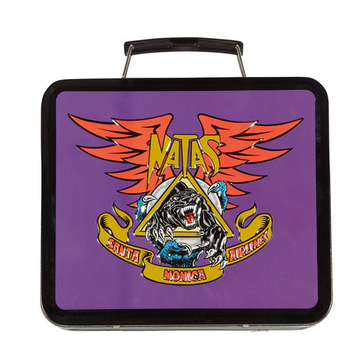Santa Cruz x SMA Natas Panther Metal Lunch Box