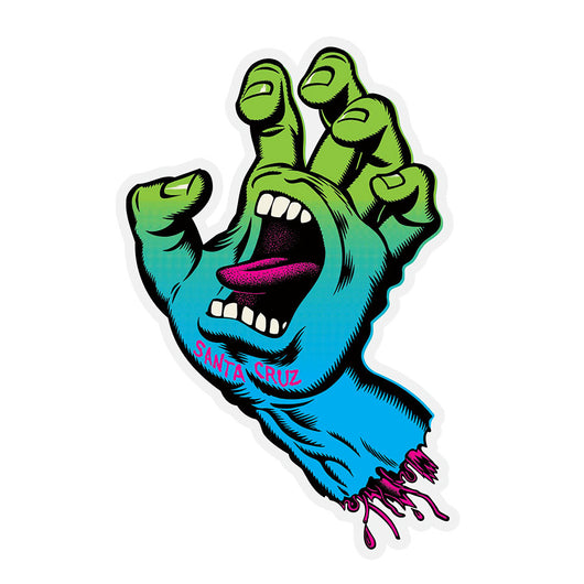 Santa Cruz Screaming Hand Neon Fade Sticker