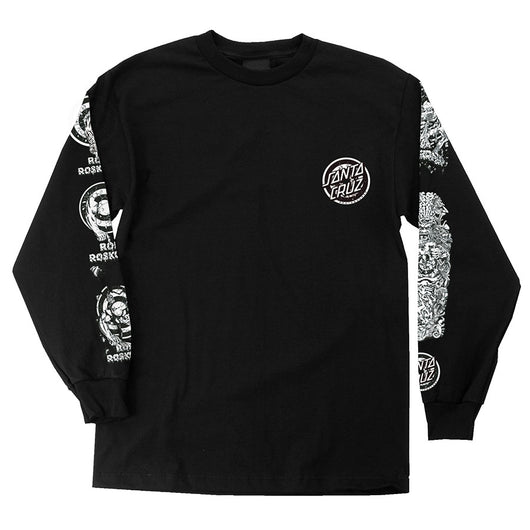 Santa Cruz Rob Roskopp Evolution Long Sleeve T-Shirt