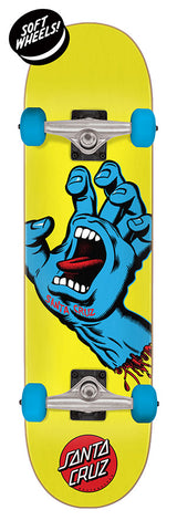 Santa Cruz Screaming Hand Mini Sk8 Complete Skateboard 7.75 x 30