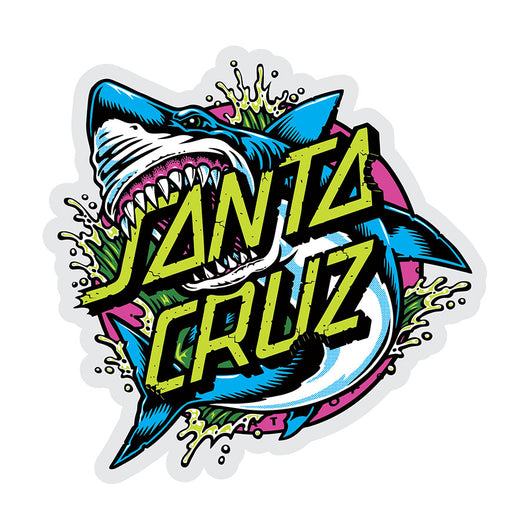 Santa Cruz Skateboards Shark Dot Sticker / Decal