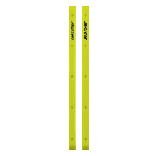 Santa Cruz Slimline Neon Yellow Skateboard Rails