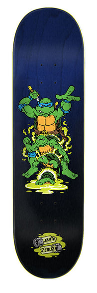 Santa Cruz / Teenage Mutant Ninja Turtles Leonardo TMNT Skateboard Deck