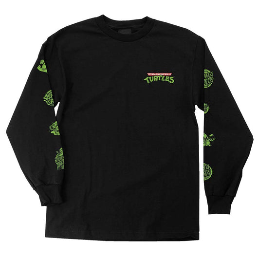 Santa Cruz x Teenage Mutant Ninja Turtles TMNT Mutagen Regular L/S Mens T-Shirt