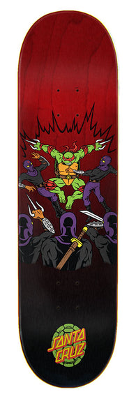 Santa Cruz / Teenage Mutant Ninja Turtles Raphael TMNT Skateboard Deck