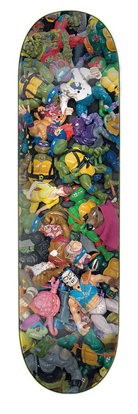 Santa Cruz / Teenage Mutant Ninja Turtles TMNT Toys Everslick Skateboard Deck
