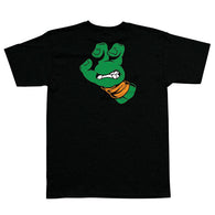 Santa Cruz x Teenage Mutant Ninja Turtles TMNT Michelangelo Hand Youth T-Shirt
