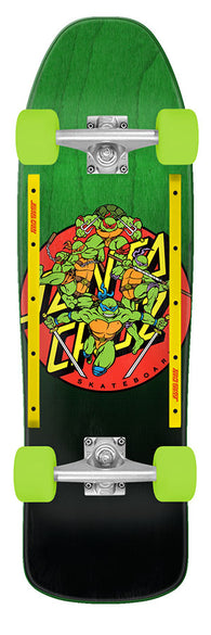 SANTA CRUZ / TEENAGE MUTANT NINJA TURTLES TMNT Turtle Power 9.35