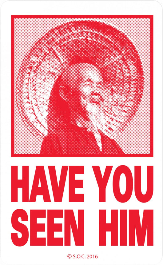 Powell Peralta Have You Seen Him Animal Chin Sticker
