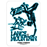 Powell Peralta Lance Mountain Future Primitive Bones Brigade Sticker
