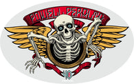 Stickers Powell Peralta Skateboards 40th Anniversary Winged Ripper Sticker - TheDarkSlide