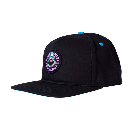 Santa Cruz Speed Wheels Shark Mid Profile Snapback Hat