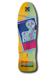H-Street Tony Magnusson Trauma Skateboard Deck
