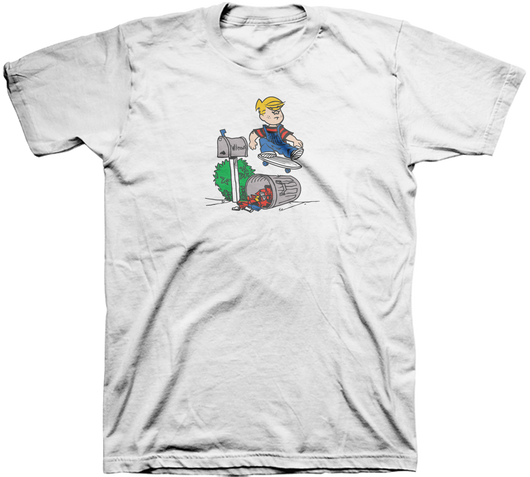 Plan B Danny Way Dennis The Menace Trash Can T-Shirt *Pre-Order*