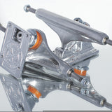 Independent Stage 11 Forged Titanium Silver Skateboard Trucks