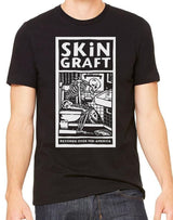 "SKiN GRAFT Records ""Over Mid-America"" T-Shirt with small SG back logo"