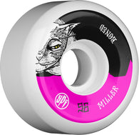 BONES WHEELS SPF Pro Chris Miller Guilty Cat Skateboard Wheels P5 104A 4pk