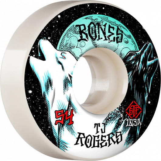 BONES STF Pro Roger Howl 54mm V3 Slims 103A Skateboard Wheels